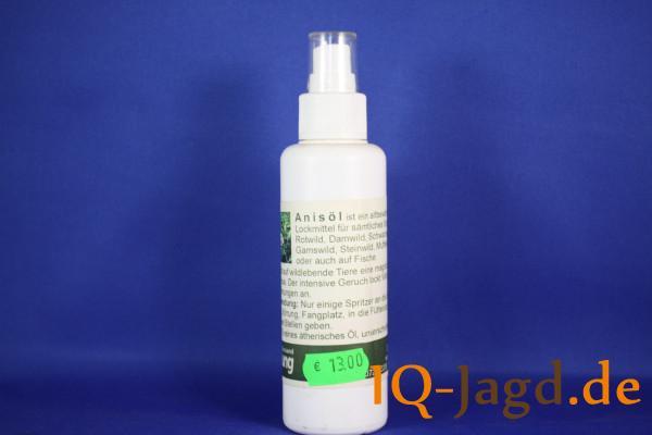 Anisöl natürliches Lockmittel für Schalenwild