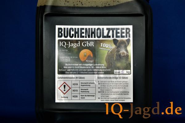 IQ-Jagd-Buchenholzteer 5 kg im Kanister