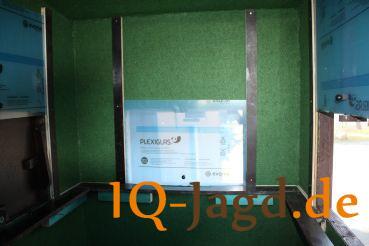 Fenster 3 Stück aus Plexiglas zum Hochschieben