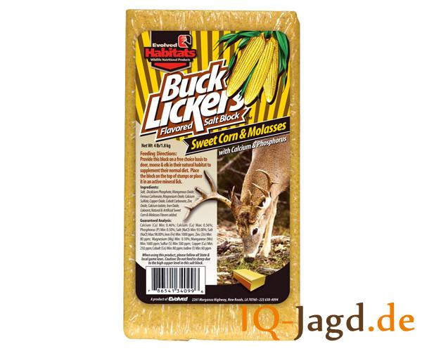 Buck Lickers Sweet Corn & Molasses