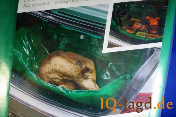 Faltbare Wildwanne 125 x 64 x 30 cm
