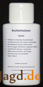 Buchenholzteer Spezial 500 ml